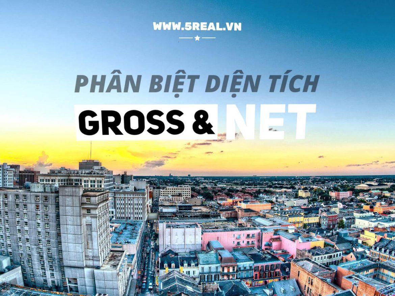 Phân biệt diện tích Gross và Net khi thuê văn phòng - 5real.vn